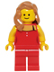 Minifig No: twn222  Name: Lady in Red