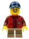 Minifig No: twn261  Name: Camper - Boy