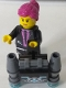 Minifig No: uagt018s  Name: Agent Caila Phoenix with Jetpack with Sticker