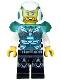 Minifig No: uagt024  Name: Agent Jack Fury - Helmet and Shoulder Armor