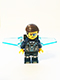Minifig No: uagt026  Name: Agent Curtis Bolt with Wings - No Stickers on Wings