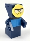 Minifig No: uni10  Name: Master Frown