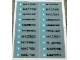 Part No: 10152.3stk02  Name: Sticker for Set 10152-3 - Sheet 2, Gray Container Sticker Sheet (57339/4492358) MAERSK