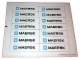 Lot ID: 164576255  Part No: 10155stk01  Name: Sticker for Set 10155 - Sheet 1, White Container Sticker Sheet (57339/4585633)