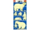 Part No: 1079polarbear  Name: Paper, Duplo Mosaic Picture Puzzle Key Card from Set 1079 - Polar Bear (197821)