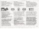 Part No: 108681  Name: Paper, Information Note for Parents, 12V Transformer - 108681