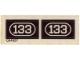 Part No: 133stk01  Name: Sticker for Set 133 - (004587)