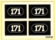 Lot ID: 22824282  Part No: 171stk01  Name: Sticker for Set 171 - (003439)