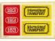 Part No: 183stk01  Name: Sticker for Set 183 - (004747)