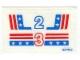 Part No: 1992stk01  Name: Sticker for Set 1992 - (821462)