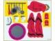 Part No: 232stk01a  Name: Sticker for Set 232 - Two Sheet Version - Sheet 1 - (4424)