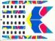 Part No: 2718stk01  Name: Sticker for Set 2718 - Sheet 1 (72614/4117058)