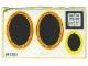 Part No: 296stk01  Name: Sticker for Set 296 - (003583)