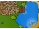 Part No: 3090pap  Name: Paper, Duplo Playmat for Set 3090 - Lake with Pier and Grass and Stone Walkway