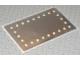 Part No: 3242stk02  Name: Sticker for Set 3242 - Sheet 2, Mirrored, Scala Vanity Mirror Large Rectangular with Lamp Pattern (71510/4107187)