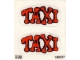 Part No: 338.2stk02  Name: Sticker for Set 338-2 - Sheet 2 (190227)