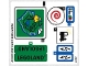 Part No: 40166stk01  Name: Sticker for Set 40166 - (25806/6142938)