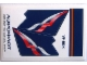 Part No: 4032.13stk02  Name: Sticker for Set 4032-13 - Sheet 2, Aeroflot Airlines, Cyrillic Characters (55961/4592911V)