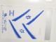 Part No: 4032.3stk01  Name: Sticker for Set 4032-3 - EL AL Airlines (51833/4249385)