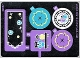 Part No: 41140stk01  Name: Sticker for Set 41140, Mirrored - (25131/6137405)