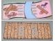 Part No: 4173828  Name: Paper, Duplo Playmat, Rectangle with No Bridge/Bridge Pattern for Set 3283