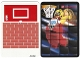 Part No: 4195292  Name: Paper, Cardboard Backdrop for Set 3549, Basketball Backboard