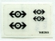 Part No: 4525stk01  Name: Sticker for Set 4525 - (168265)