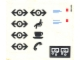 Part No: 4554stk01  Name: Sticker for Set 4554 - Sheet 1 (164555)