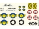 Part No: 4555stk01  Name: Sticker for Set 4555 - (169675)
