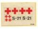 Part No: 460stk01  Name: Sticker for Set 460 - (003434)