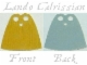 Lot ID: 157564605  Part No: 522pb001  Name: Minifigure, Cape Cloth, Standard with Yellow and Blue Sides (Lando Calrissian)