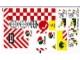 Part No: 60022stk01  Name: Sticker for Set 60022 - Sheet 1 (13618/6030897)