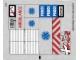 Part No: 60023stk02a  Name: Sticker for Set 60023 - Sheet 2 - Transparent Background Version - (14082/6035463)