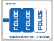 Part No: 60041stk01b  Name: Sticker for Set 60041 - North American Version - (16889/6064393)