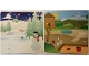 Part No: 6064218  Name: Paper, Cardboard Backdrop for Set 45014, Playground / Snowman Winter Pattern
