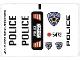Part No: 6111stk03a  Name: Sticker for Set 6111 - Sheet 3, Highway Enforcer (56626/4296371)