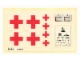 Part No: 6364stk01  Name: Sticker for Set 6364 - Sheet 1 (199027)