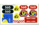 Part No: 6560stk01  Name: Sticker for Set 6560 - Sheet 1 (71450/4106599)