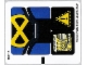 Part No: 76022stk01b  Name: Sticker for Set 76022 - North American Version - (17685/6075052)