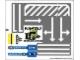 Part No: 8196stk01  Name: Sticker for Set 8196 - Sheet 1 (88157/4566051)
