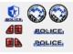 Part No: 8230stk01  Name: Sticker for Set 8230 - (170886)