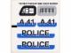 Part No: 8252stk01  Name: Sticker for Set 8252 - (72734/4119056)