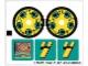 Part No: 8257stk01  Name: Sticker for Set 8257 - Sheet 1 (71850/4114524)