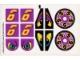 Part No: 8257stk02  Name: Sticker for Set 8257 - Sheet 2 (71823/4114353)