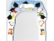 Part No: 850935cdb01  Name: Paper, Cardboard Arch for Graduation Set 850935