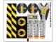 Part No: 8968stk01  Name: Sticker for Set 8968 - (86384/4549902)