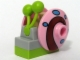 Part No: bob018  Name: Snail, Spongebob Squarepants with Bright Pink Shell (Gary) - Complete Assembly