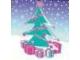 Part No: clikits076pb11  Name: Clikits Paper, Insert 4 x 4 for Frame clikits011, Christmas Tree