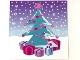 Part No: clikits130pb12  Name: Clikits Paper, Insert 10 x 10 for Frame clikits069, Christmas Tree