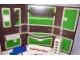 Part No: tplan07  Name: Town Plan Board, Cardboard Tri-Fold (48 1/4cm x 84 1/2cm) - Set 842